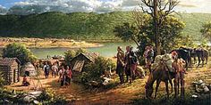 Post & King Beaver at Fort Duquesne by Roberrt Griffing by Robert Griffing