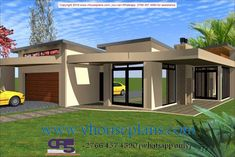 Overall Dimensions- x mBathrooms- 3 Car GarageArea- Square meters Building Costs, Building Plans, Flat Roof House, My Dream Home, Dream Homes, Guest Toilet, Porch Columns, 5 Bedroom House, Dream House Exterior