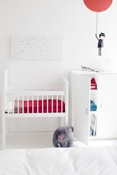 #kids #room #bedroom #red