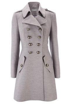 Grey Military Coat