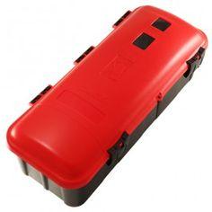 Cajas para extintores fabricadas en plástico ABS, que garantizan su conservación en exteriores y vehículos como remolques, camiones y cisternas.