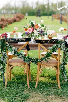 Chairs wedding inspiration | Photo by Kristen Curette