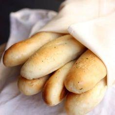 Homemade Olive Garden Breadsticks recipe from TastesBetterFromScratch.com