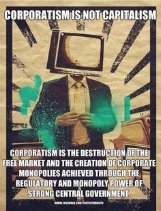 "We need a government ""Of the People"" and NOT for the corporations..."