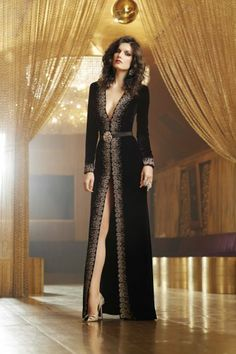 Oscar de la Renta Gown & Belt