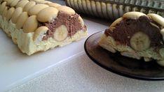 Nepečený srnčí chrbát s banánom Eclairs, Graham Crackers, Food To Make, Pancakes, Cheesecake, Favors, Deserts, Muffin, Dessert Recipes