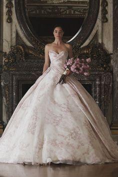 RK6408 | Romona Keveza Luxe Bridal Spring 2016