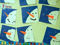 How to make a Snowman Banner