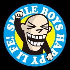 退屈な日常にインパクトを!ワルそうだけど憎めない、どこかカワイくて笑っちゃう「スマイルボーイズ」第2弾は、食べて遊んで楽しい毎日!