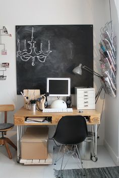 Pallet love - pallet desk and other cool pallet ideas