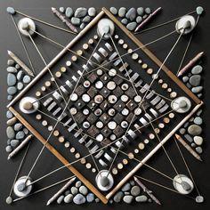 Matt Moore's Earthy Mandalas. Artist Matt Moore... - SUPERSONIC ART