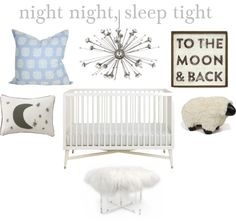sweet dreams nursery design // yellowcrownblog.com