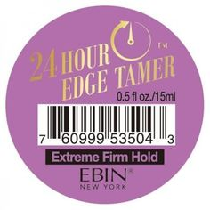 EBIN New York Argan Oil Edge Tamer Extreme Firm Hold (Edge Control) 0.5 Ounce