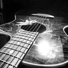 My Passion Flower Luna Guitar. :)