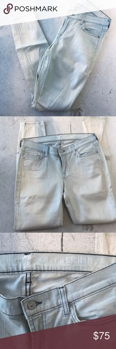 For Love and Lemons wax coated jeans Pearl wash 7 for all mankind jeans. Never wore! Stretchy and comfy! 7 For All Mankind Jeans Skinny