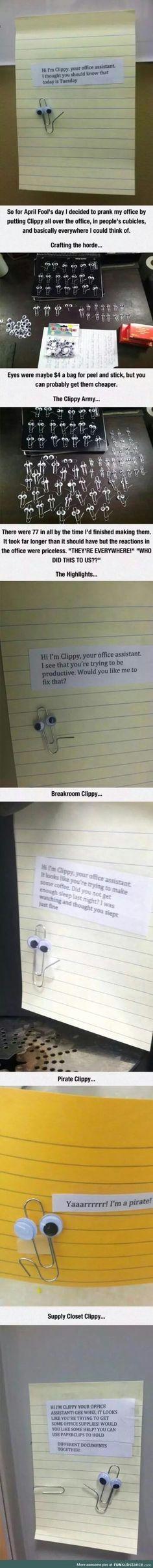 Paper clip to the rescue