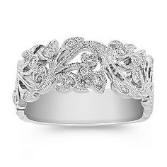 Vntage Inspired Diamond Ring at Shane Co.