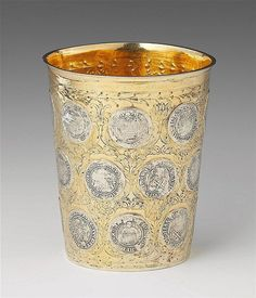 Buy online, view images and see past prices for A large silver gilt Dresden coin-set beaker. Invaluable is the world's largest marketplace for art, antiques, and collectibles. Dresden, 17th Century, Coins, Candle Holders, Shapes, Antiques, Utensils, Silver, Money