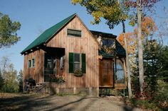 Bungalow-in-a-Box (Maine-based small home designers/builders). Cute and super affordable.