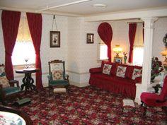 Inside Walt's apartment at Disneyland
