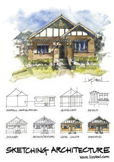 Liz Steel's sketch