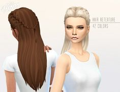 Miss Paraply: Retexture of Absolution hair by Kiara24 • Sims 4 Downloads