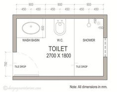 small bathroom dimensions google search - Bathroom Designs And Measurements