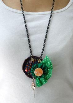 Fabric Necklace 2009