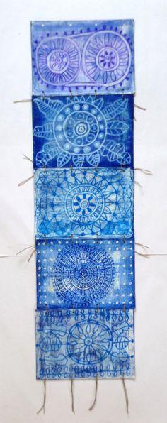 garimo eva cockova, acrylic and oil pastel on paper