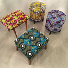 African plastic woven mats from malika in senegal the for Funky home decor accessories