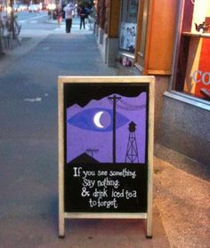 IF I SAW THIS I WOULD DIE. That cafe/coffee shop/dinner/whateveridontevencare would have a customer for LIFE!