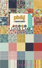 Basic Grey PB&J LAYER CAKE [4LC-MODA-PB&J-LC] - $38.95 : Pink Chalk Fabrics is your online source for modern quilting cottons and sewing patterns., Cloth, Pattern + Tool for Modern Sewists