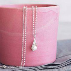 calla lily pendant by emma-kate francis | notonthehighstreet.com