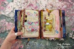 Taking Flight - a Stitched Mixed Media Journal
