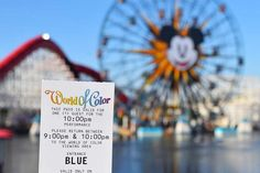 Looking for ways to maximize your time and fun at Disneyland? Hop to our guide, filled with 40 tips! Disney California Adventure Park, California History, World Of Color, Disneyland, Helpful Hints, Tips, Fun, Travel, Useful Tips
