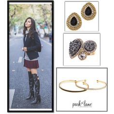 """Pari"" by parklanejewelry on Polyvore"