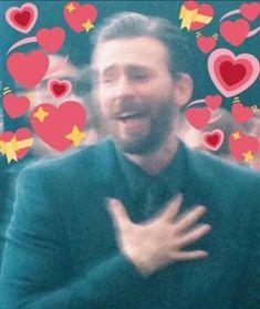 Do yall watch the Agent Carter TV show? Im still trying to petition for season 3 featuring Chris Evans. Anyways I kin. Avengers Cast, Avengers Memes, Marvel Memes, Sapo Meme, Heart Meme, Cute Love Memes, Crush Memes, Marvel Funny, Wholesome Memes