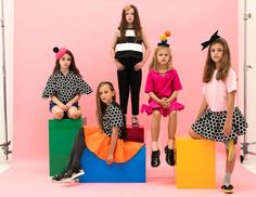 The debut collection of Carousel & Bazaar  Australian kids fashion for fall 2015