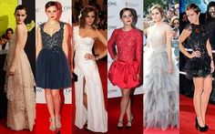 Celebridade: Emma Watson.. I want all of these dresses!