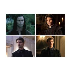 Vampire Diaries Fan Poll The Evolution of Elijah's Hair ❤ liked on Polyvore featuring people and vampire diaries