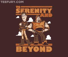 Serenity and Beyond by OneShoeOff- Nyx's list of Firefly/Serenity TeeFury tees :)