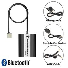 64.99$  Watch here - http://aliifa.worldwells.pw/go.php?t=32720307127 - Bluetooth Receiver Car Kit Hands Free Phone Call Wireless Music Adapter for Honda Accord Civic Odyssey Acura 64.99$