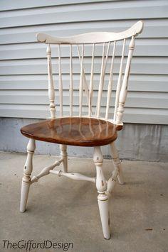 Kitchen Table Chairs Redo @ thegifforddesign.com