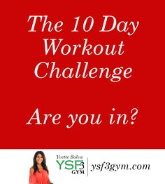 Are you ready to start a brand new workout challenge? Even if your not a member of the YSF3 gym you can take part in this challenge. The #FITIN10 challenge has 10 of my favoriteworkoutvideos that are designed to help you kick start your exercise routine. If you have not worked out for a while …