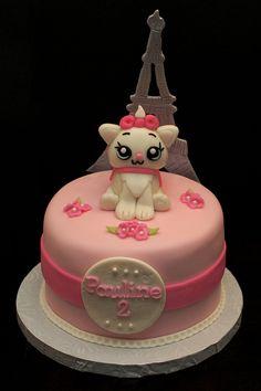Marie the Cat Cake