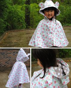 Elm Poncho pattern by Willow & Co