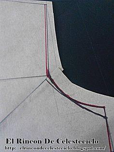 Eliminado medio centímetro en la sisa del patrón para tejido de punto Sewing Pants, Dress Patterns, How To Wear, Transformers, Clothes, Modeling, Sew Dress, Sewing Stitches, Skirt Patterns Sewing