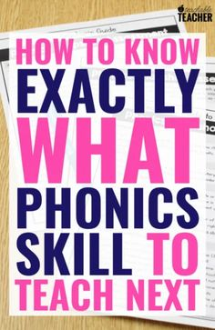 Phonics Scope and Sequence to Set Your Students for Reading Success