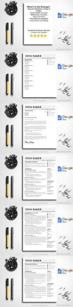 Modern Resume Template Google Docs Modern Resume Templates