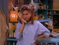 "Wearing Dad's Old Work Shirt To Do Crafts | Here Are All 90 Outfits Rachel Green Wore On The First Season Of ""Friends"""